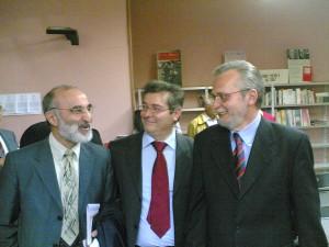 Da sinistra: Tesio, Granatiero, Pappalardo La Rosa