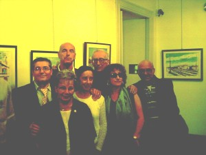 F. Granatiero, Edda Serra, Claudio Grisancich, Franca Grisoni, Franco Loi, Assunta Finiguerra, Achille Curcio