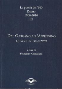 III Volume di «La Poesia del '900 Dauno»
