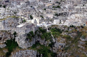 Matera-Italien
